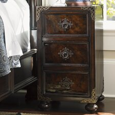Island Traditions Gramercy 3 Drawer Nightstand
