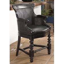 Kingstown Dunkirk Swivel Bar Stool with Cushion