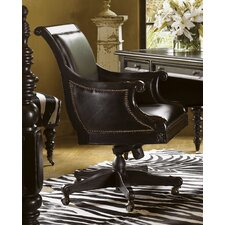 <strong>Tommy Bahama Home</strong> Kingstown High-Back Admiralty Office Chair