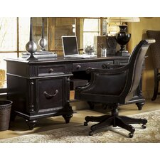 <strong>Tommy Bahama Home</strong> Kingstown Admiralty Credenza Executive Desk with Chair