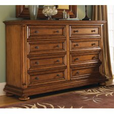 Island Estate Martinique 8 Drawer Double Dresser