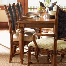 <strong>Tommy Bahama Home</strong> Island Estate Mangrove Woven Back Side Chair
