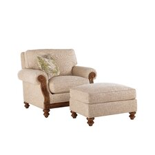 Island Estate Chair and Ottoman