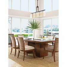 <strong>Tommy Bahama Home</strong> Ocean Club Peninsula Dining Table