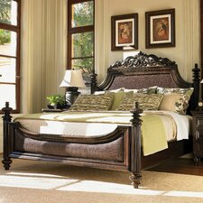 <strong>Tommy Bahama Home</strong> Royal Kahala Four Poster Harbour Point Bed