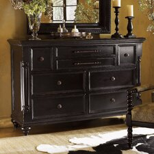 <strong>Tommy Bahama Home</strong> Kingstown Stony Point 8 Drawer Triple Dresser