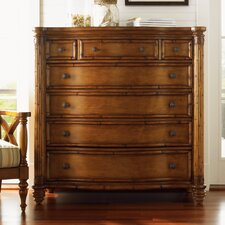 <strong>Tommy Bahama Home</strong> Island Estate Sea 7 Drawer Chest