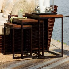Ocean Club 3 Piece Nesting Tables