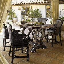 <strong>Tommy Bahama Home</strong> Tuscano 7 Piece Dining Set