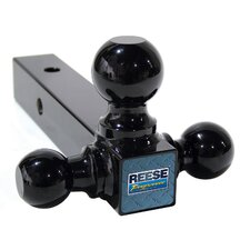 Triple ball mount