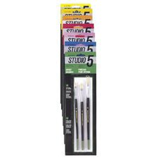 Studio 5 Artist and Hobby Brushes (Set of 3)
