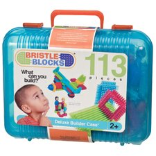 <strong>Battat</strong> Bristle Blocks Set Toy (113 Pieces)