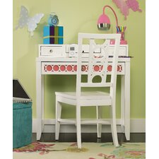 "<strong>Opus Designs</strong> Lily 34"" W Writing Desk with Chair"