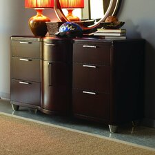 <strong>Opus Designs</strong> Aura 7 Drawer Combo Dresser