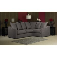 Amelia 4 Seater Corner Pillow Back Sofa