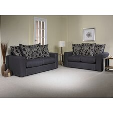 Lauren 3 Seater Pillow Back Sofa