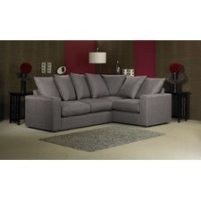 Lauren 4 Seater Pillow Back Corner Sofa