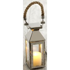Illuminaria Portico Stainless Steel/Glass Lantern