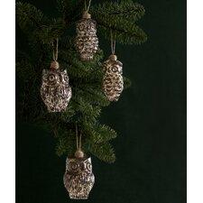 Owl Ornament (Set of 4)