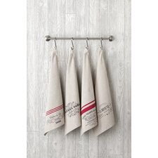 Entertaining French Tea Towels (Set of 4)
