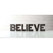 "Holiday Decor ""Believe"" Display Letters"