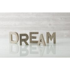 """Dream"" Block Print Display Letters"