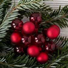 Holiday Decor Mini Ball Clusters (Set of 12)