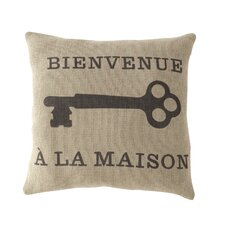 Bienvenue Square Pillow