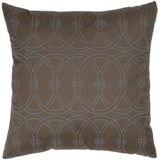 <strong>India's Heritage</strong> Print Entangle Circle Silk Pillow