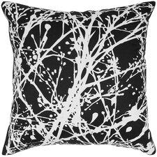 Print Splatter Silk Pillow