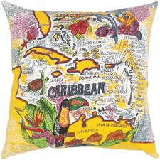<strong>India's Heritage</strong> Canvas Print The Caribbean Pillow