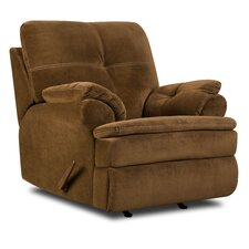 Oak Rocker Recliner