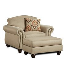 Brindisi Arm Chair and Ottoman