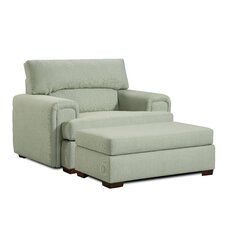Milan Arm Chair and Ottoman