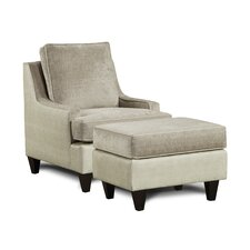 Catania Arm Chair and Ottoman