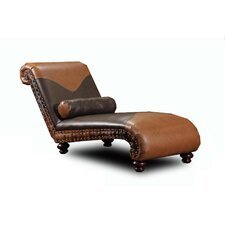 <strong>Chelsea Home</strong> Denver Leather Chaise