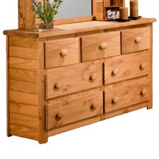 <strong>Chelsea Home</strong> 7 Drawer Dresser