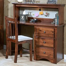 "45"" W Writing Desk with Optional Hutch"