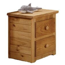 <strong>Chelsea Home</strong> 2 Drawer Nightstand