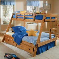 Twin over Full Standard Bunk Bed with Underbed Storage