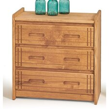 <strong>Chelsea Home</strong> 3 Drawer Chest