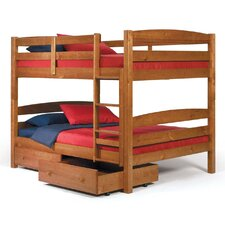 <strong>Chelsea Home</strong> Full over Full Standard Bunk Bed with Underbed Storage