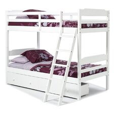 Twin over Twin Standard Bunk Bed with Underbed Storage