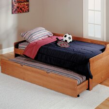 <strong>Chelsea Home</strong> Twin Captain Bed with Bed