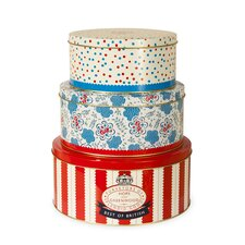 Hope and Greenwood 3 Piece Cake Tin Set