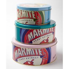 Marmite Pop Art 20cm Cake Tin Set (Set of 3)