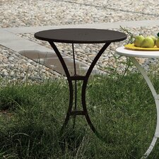 Raffaello Round Stainless Steel Bistro Table