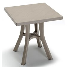Daddy Bistro Square Resin Bistro Table