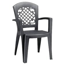 Juliette High Back Stackable Dining Armchair