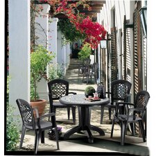 Daytona 5 Piece Tile Outdoor Dining Collection